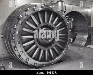 Bank Vault in Toronto, Canada - Stock Photo