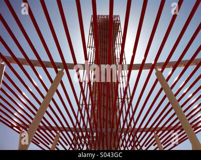 The Tower at the Circuit of the Americas in Austin Texas. - Stock Photo