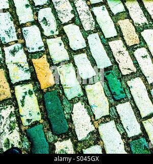 Green brick road