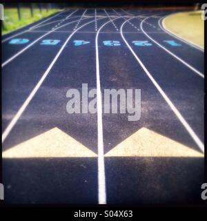 Track field - Stock Photo