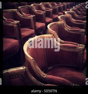 Theater chairs - Stock Photo