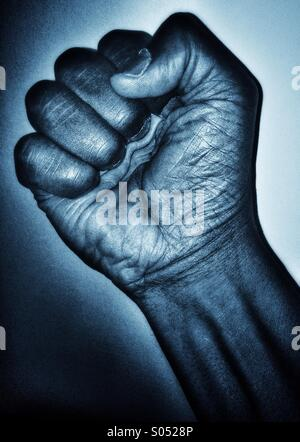 Black Fist - Stock Photo