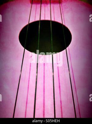 Ukulele strings - Stock Photo