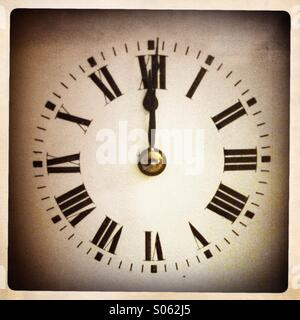 The midnight hour - Stock Photo