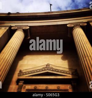Pillars of power - Stock Photo