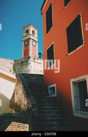 Old Fortress, Corfu Town. - Stock Photo