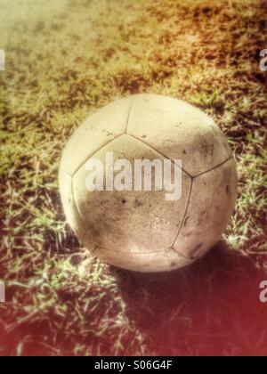 Soccer ball. - Stock Photo
