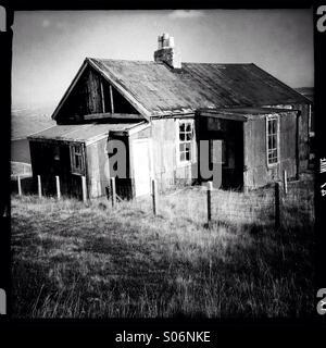 House on Isle of Lewis - Stock Photo