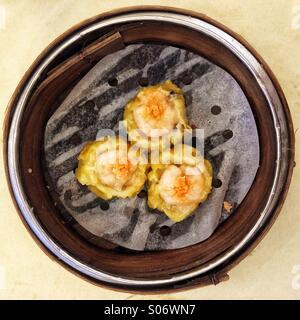 Dim sum dumplings - Stock Photo