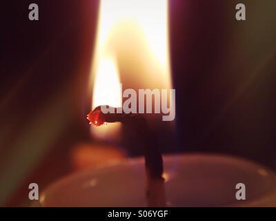 Kerzenlicht - Stock Photo
