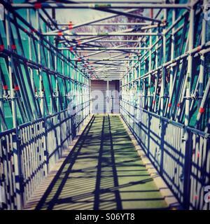 Bridge under construction - Stock Photo