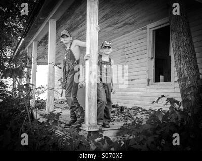 Good ol county boys - Stock Photo