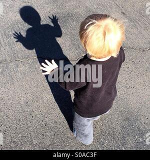 Shadow Dance - Stock Photo