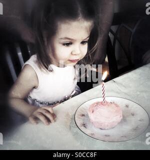 Birthday Candle - Stock Photo