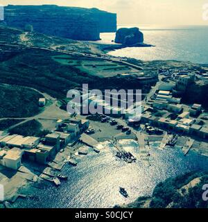 Gozo Inland Sea Divesite - Stock Photo