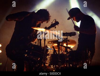Royal Blood at Brixton Academy 2015 - Stock Photo