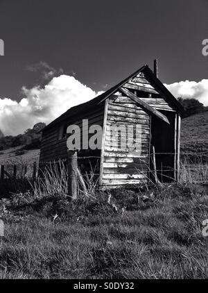 Wooden shack - Stock Photo