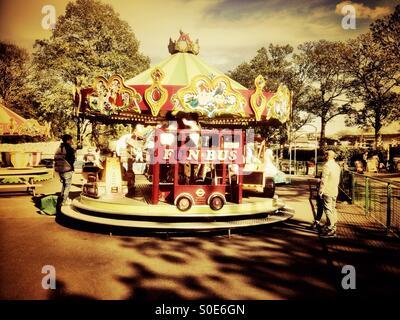 A merry-go-round. - Stock Photo