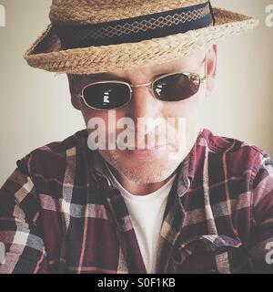Self-Portrait, Jonathan Syer - Stock Photo