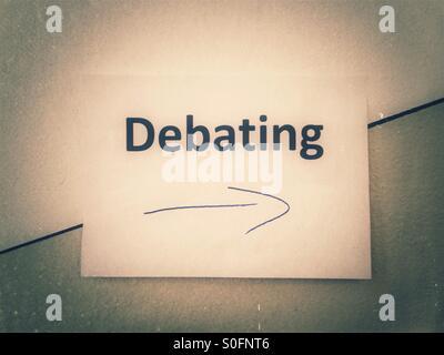 Debating - Stock Photo