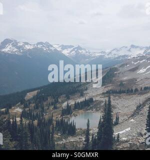 Whistler Mountain, British Columbia, Canada - Stock Photo