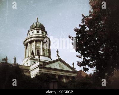French cathedral Berlin Germany - Stock Photo
