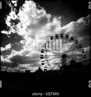 Sydney's Luna Park, Luna Park Milsons Point, Harbourside Amusement Park - Stock Photo