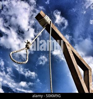 Hangman's noose - Stock Photo