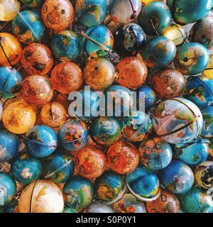 Globes - Stock Photo