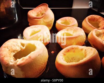 Yorkshire Puddings - Stock Photo