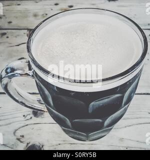 Pint of beer - Stock Photo