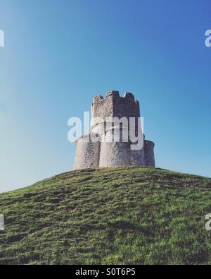 Stone church of saint Nicholas from 11. century in Nin, Croatia - Stock Photo