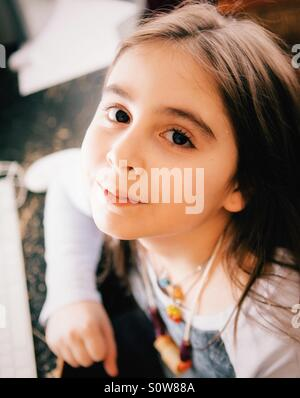 Young girl portrait - Stock Photo