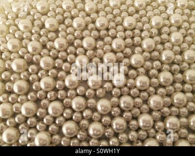 Beautiful wedding beads. - Stock Photo