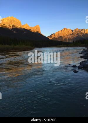 River reflections - Stock Photo