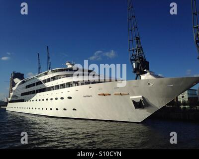 Sunborn London Yacht Hotel - Stock Photo