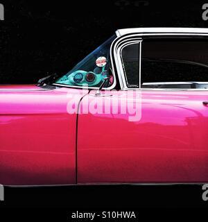 Pink Cadillac - Stock Photo