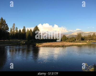 Yosemite national park. Tuolomne meadows - Stock Photo