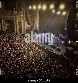 The Libertines in concert at the Brixton Academy - Stock Photo
