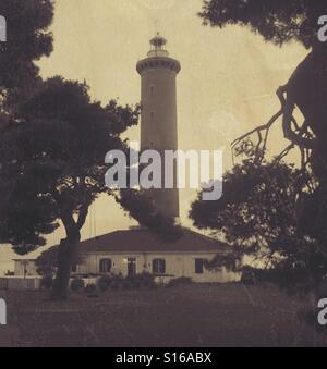 Old lighthouse - Stock Photo