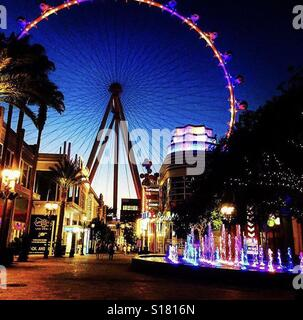 LINQ Las Vegas - Stock Photo