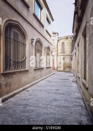 An old city Baku, Azerbaijan - Stock Photo