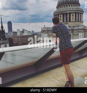 A View in London - Stock Photo