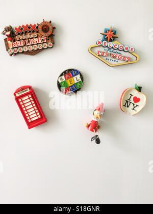 Fridge magnets - Stock Photo