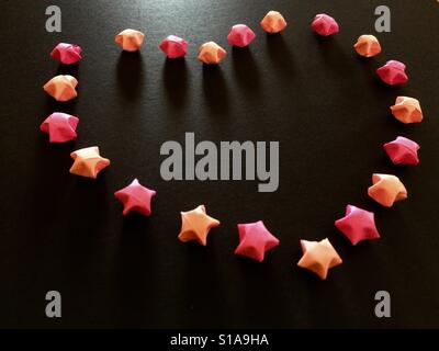 diy paper origami star stockfoto lizenzfreies bild