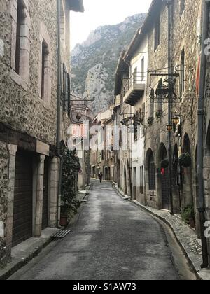 Villefranche de Conflent, midi Pyrenees, France - Stock Photo