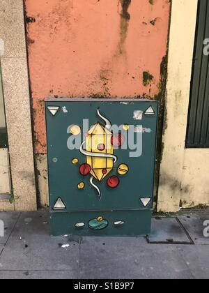Rua das Flores, Porto - Stock Photo