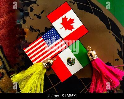 The world of NAFTA - Stock Photo