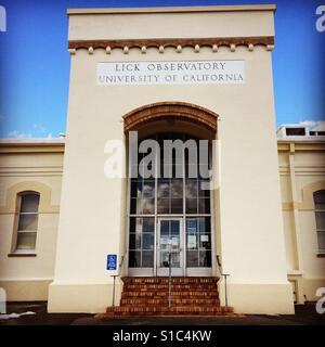 Lick Observatory, Mt Hamilton, Santa Clara County, California - Stock Photo
