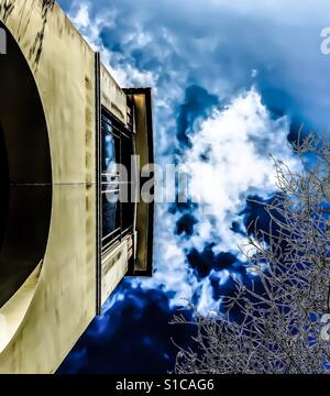 Dreamy abstract architecture old and modern - Stock Photo